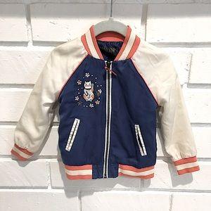 Oshkosh Genuine Kids Japan Varsity Style Jacket 2T